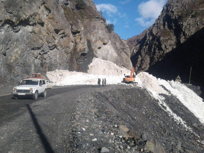 Дороги в Цунтинском районе и на Бежтинском участке расчищены