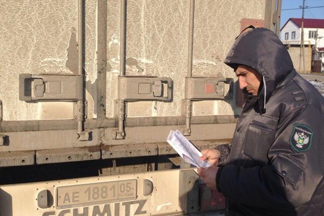Более 40 несанкционированных животноводческих грузов не попало в Дагестан в 2017 году