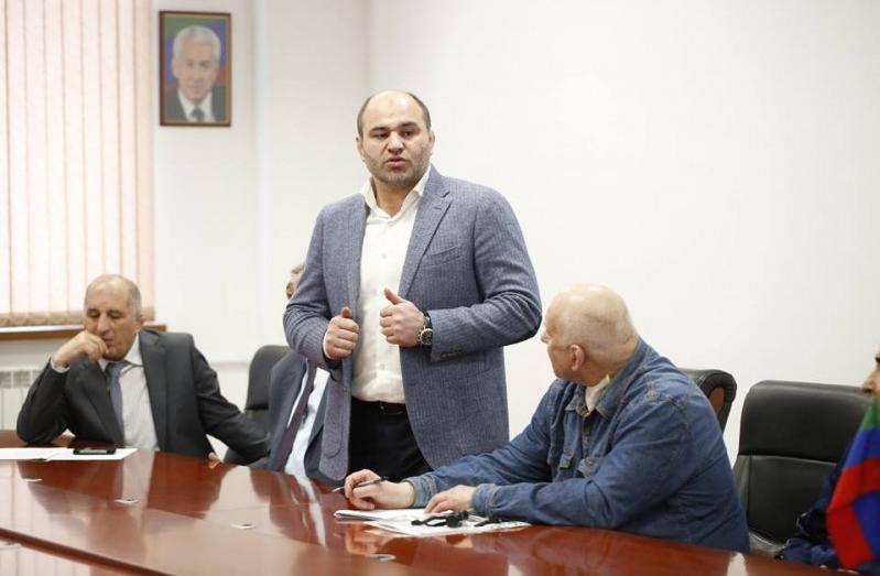 Сажид Сажидов возглавил Федерацию спортивной борьбы Дагестана