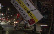 В Махачкале ежедневно сносят 8 незаконно установленных билбордов