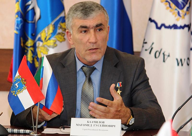 Магомеду Баачилову присвоено звание генерал-майора полиции