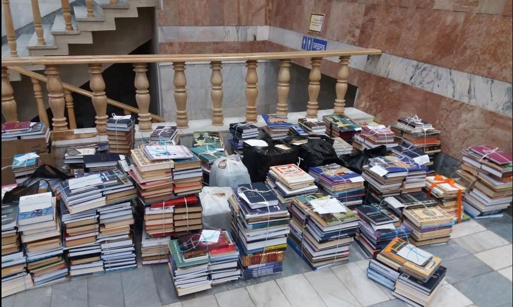 Дарители со всего Дагестана пополнили книжный фонд муниципальных библиотек
