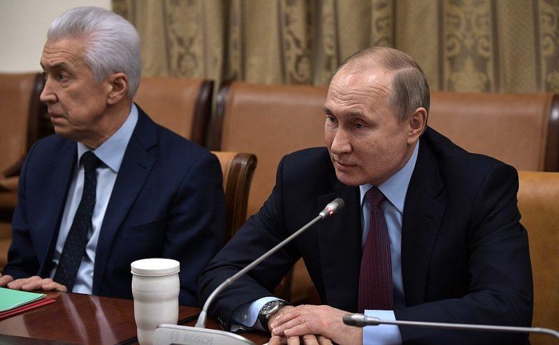 Погодные условия помешали Владимиру Путину полететь в Ботлих