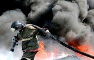 Пожар охватил несколько домов в селении Гимерсо