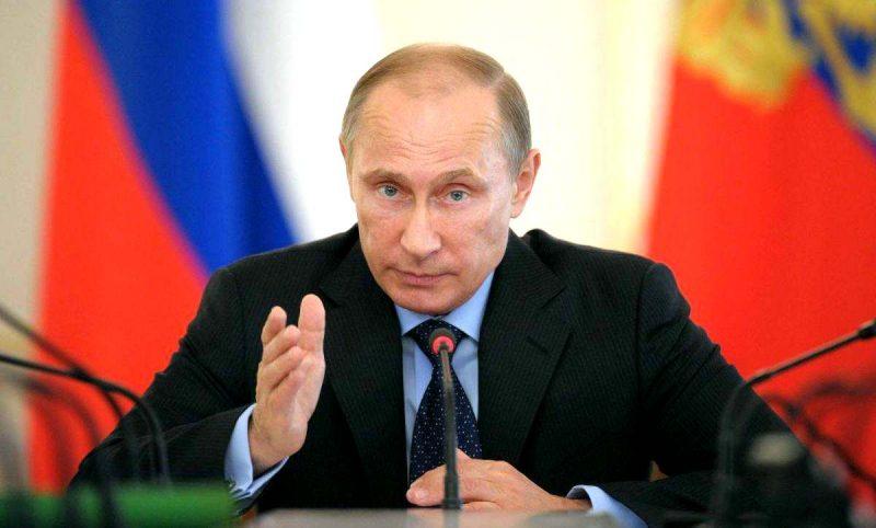 Владимир Путин прибыл в Дагестан