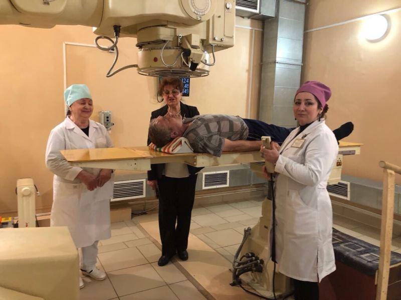 Специалист московского онкологического института прибыла в Дагестан