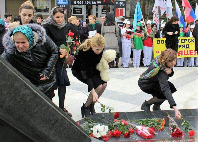В Дагестане проходят акции памяти по погибшим в Кемерове