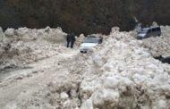 Автодорога в Рутульском районе расчищена после схода лавины