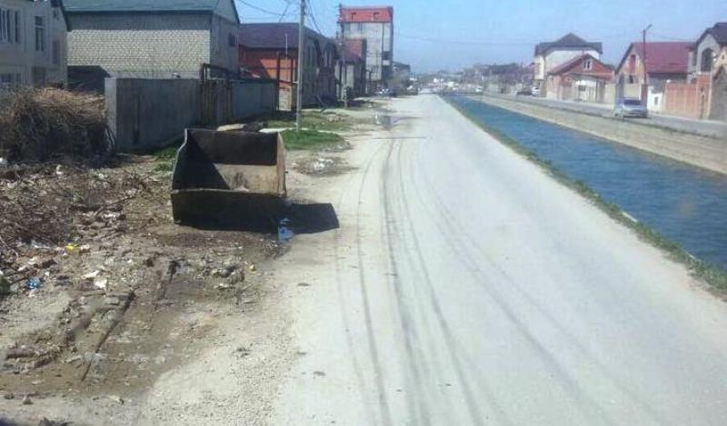 В Махачкале за ночь ликвидировали стихийную свалку