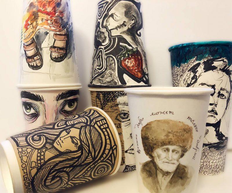 В Махачкале открывается выставка расписных бумажных стаканчиков