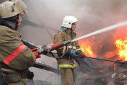 Пожар произошел на территории школы-интерната в селе Кособ