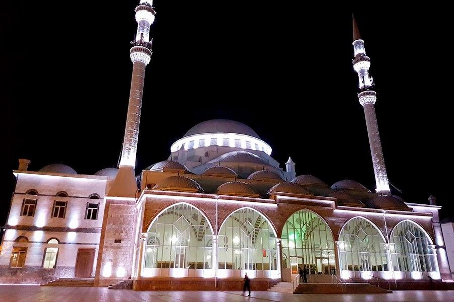 Соборная мечеть Махачкалы встретит гостей чемпионата Европы по спортивной борьбе