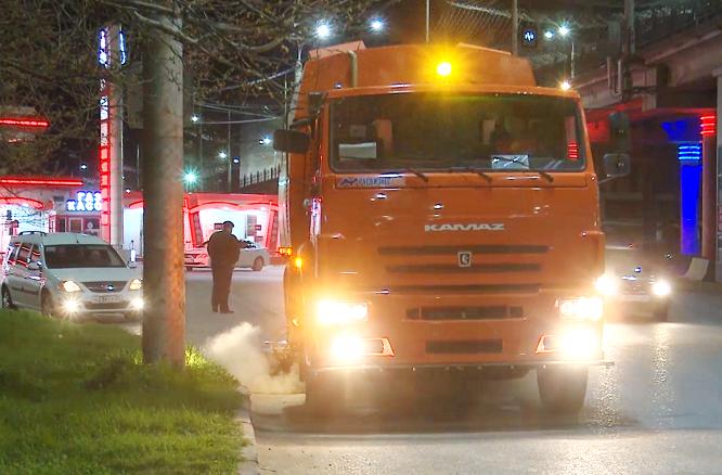 Новые машины для уборки улиц приступили к работе в Махачкале