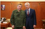 Владимир Васильев встретился с губернатором Волгоградской области