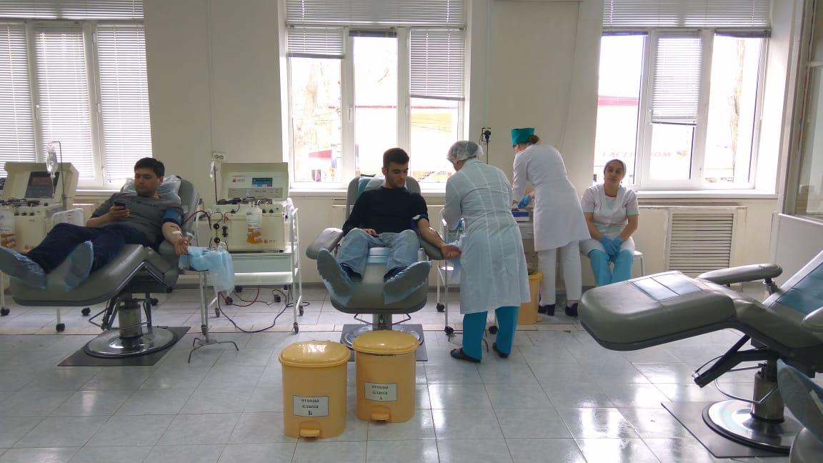 Студенты ДГТУ поддержали акцию «Национальный день донора крови»