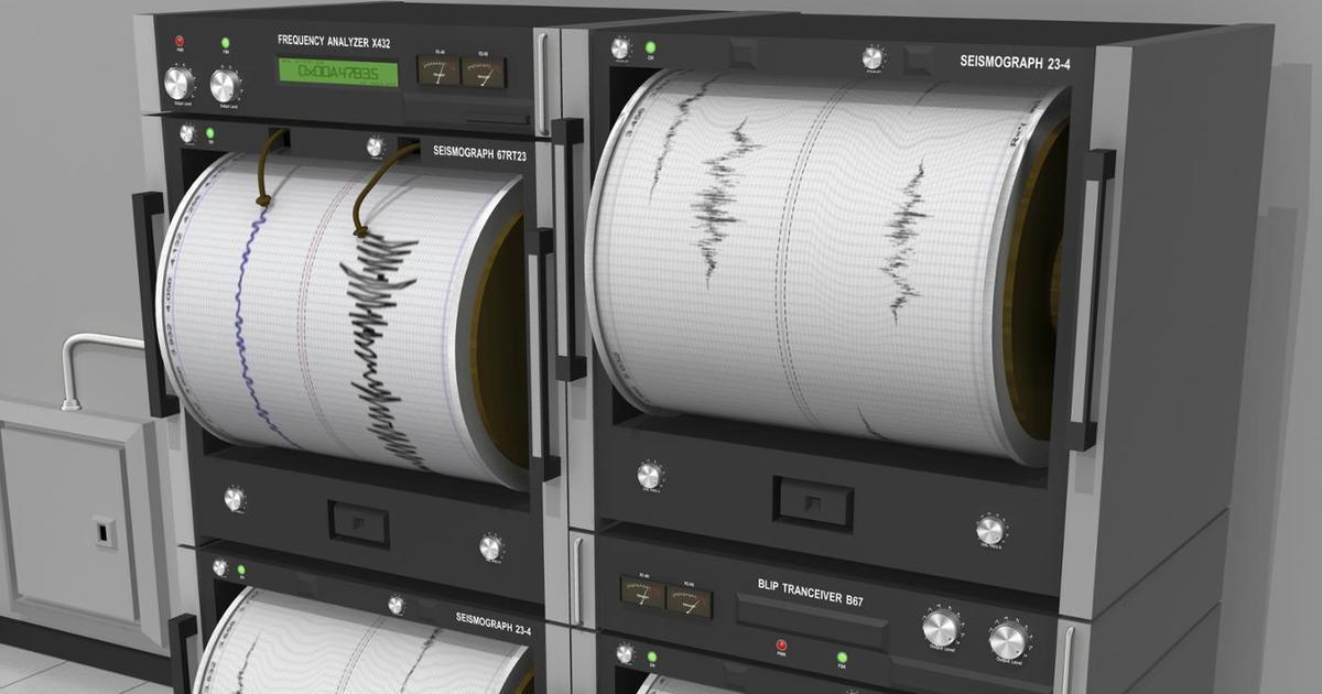 В Буйнакском районе произошло землетрясение магнитудой 4,2