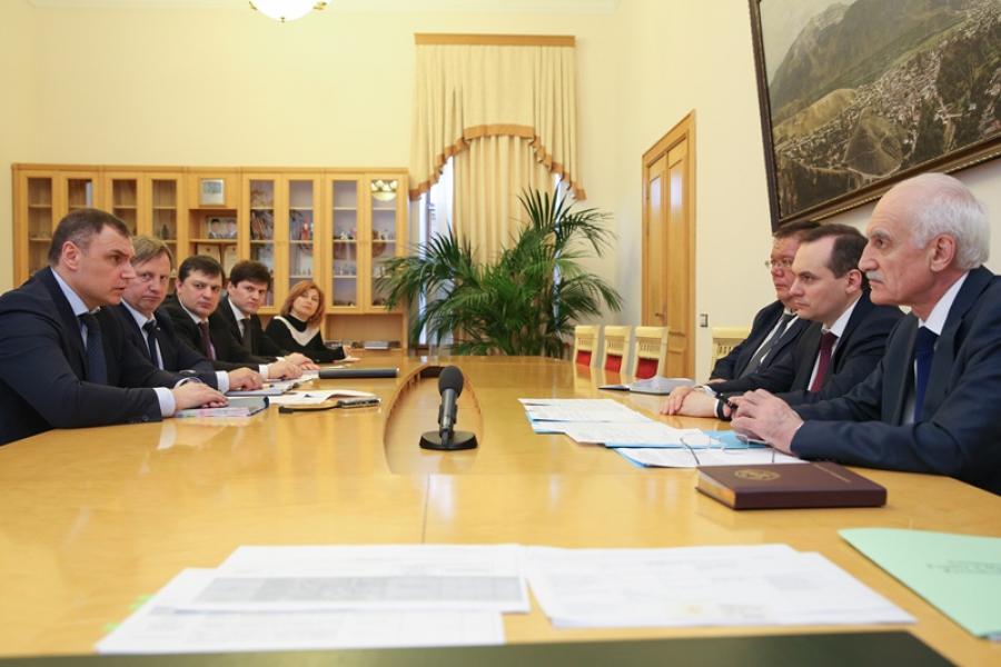 Артем Здунов встретился с руководителем МРСК Северного Кавказа
