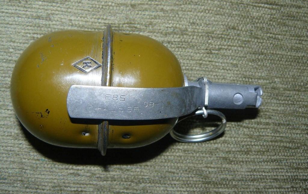 Росгвардейцы обезвредили гранату, обнаруженную у жителя Махачкалы