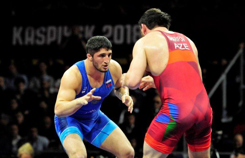 Чемпионат России по вольной борьбе: дагестанцы в четырех финалах из пяти