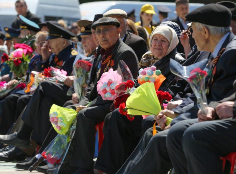 В Махачкале праздничный парад посетило более 12 тысяч человек