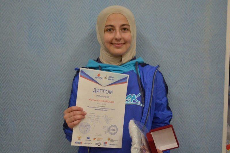Дагестанская школьница вошла в девятку лучших чтецов