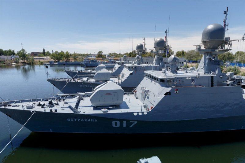 Перебазирование Каспийской флотилии добавит 5 тысяч новых рабочих мест