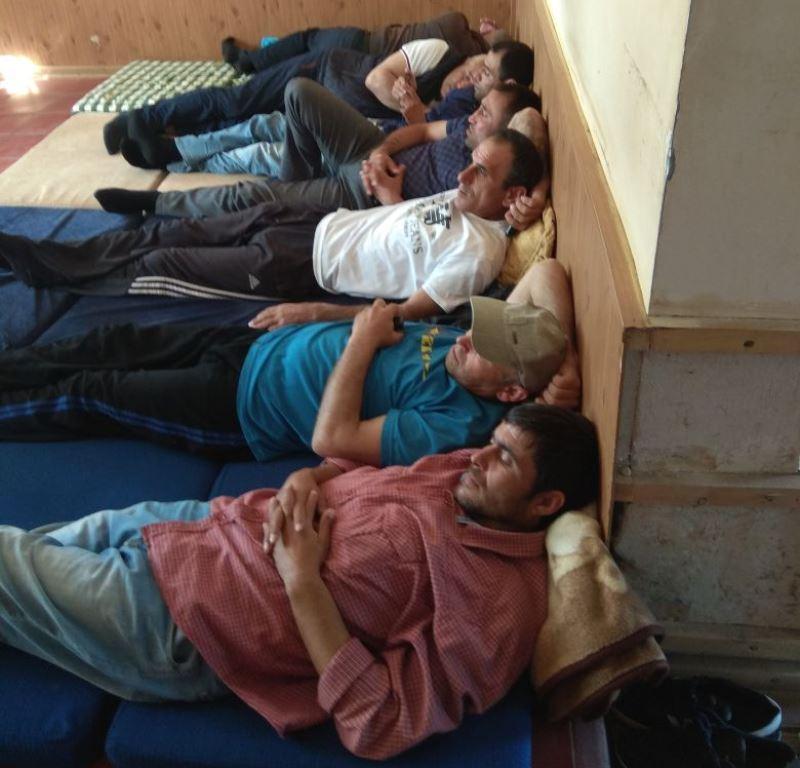 Водители маршрута №61а объявили голодовку