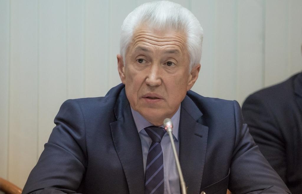 Владимир Васильев на 12 месте в рейтинге губернаторов РФ