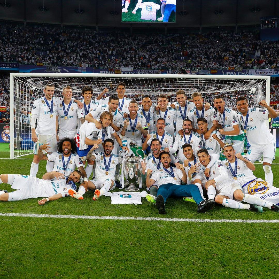 «Реал» в третийраз подряд выиграл Лигу чемпионов