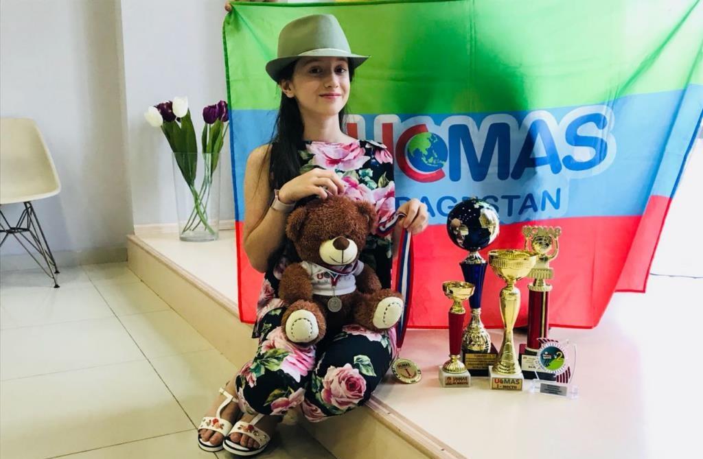 Школьница из Дагестана заняла второе место на ЧЕ по ментальной арифметике