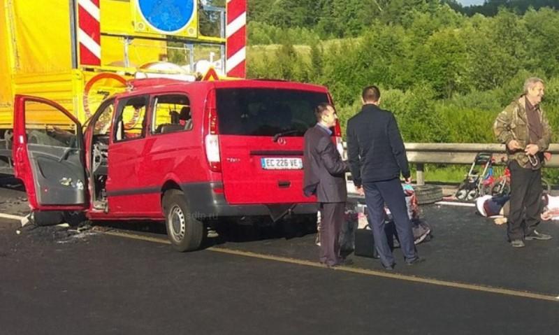 В ДТП в Смоленской области пострадали жители Дагестана