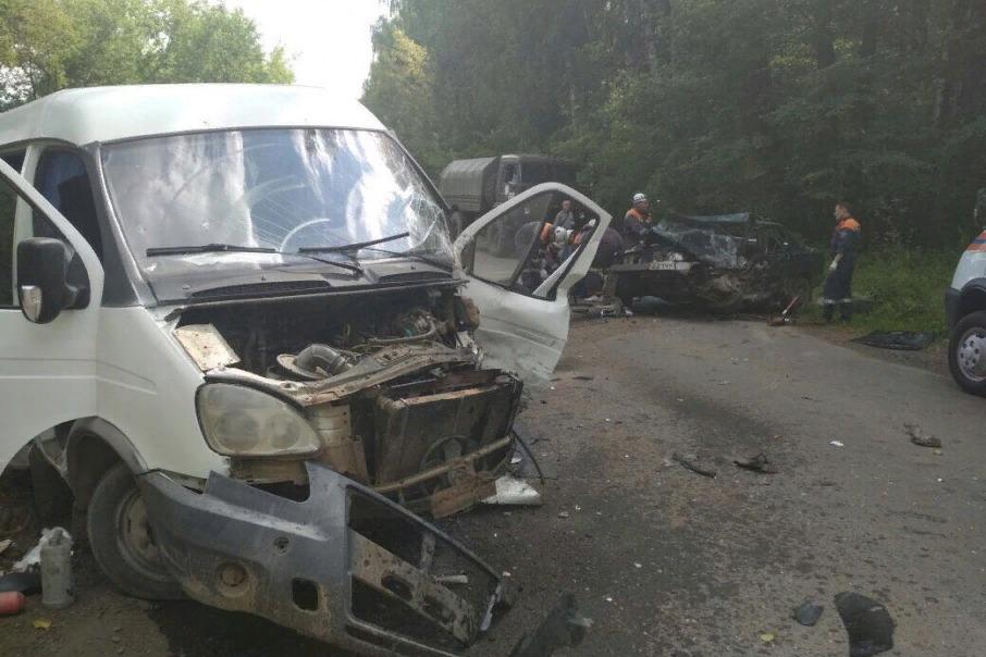 В результате аварии на трассе