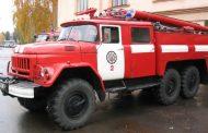 В селе Бежта во дворе больницы произошел пожар