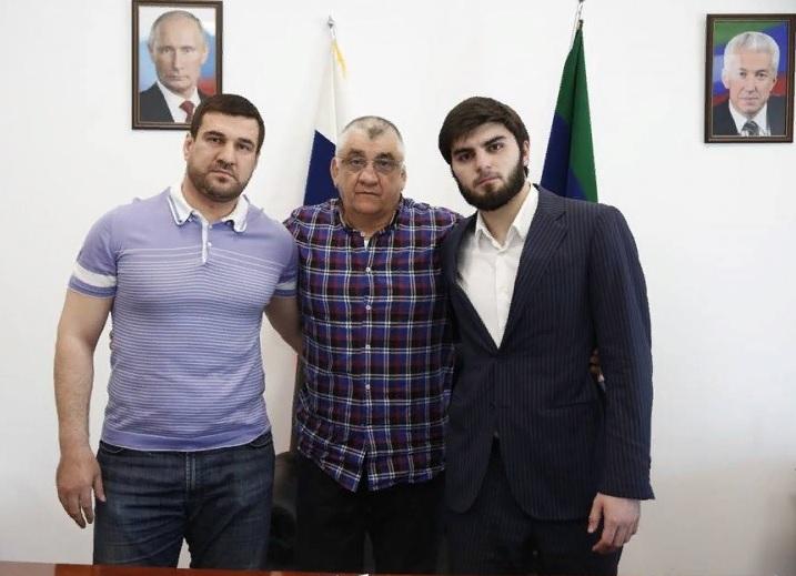 Министр спорта встретился с подравшимися на Евро Курахмаевым и Айгумовым