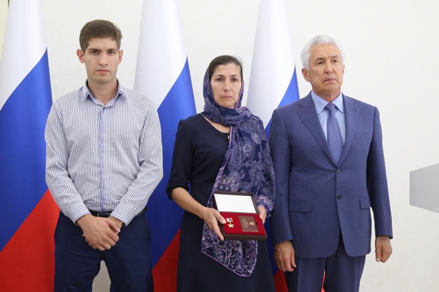Владимир Васильев вручил