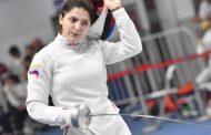 16-летняя Айзанат Муртазаева дебютировала на чемпионате мира по фехтованию