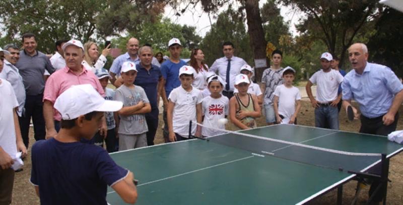 Активисты дагестанских школ собрались в лагере «Надежда»