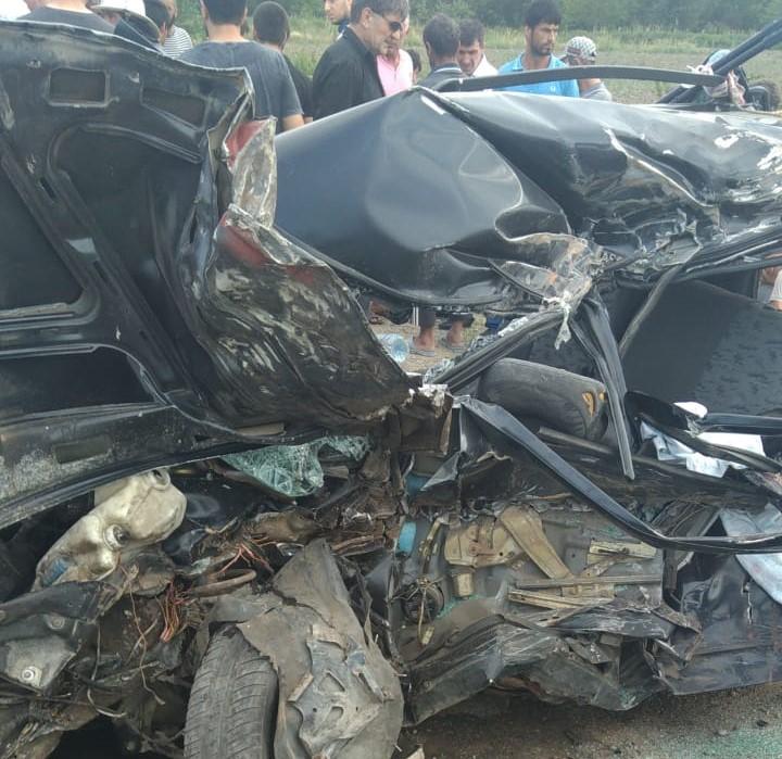 ДТП в километре от Белиджи: есть жертвы