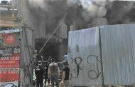 В Махачкале произошел пожар рядом с гостиницей «Каспий»