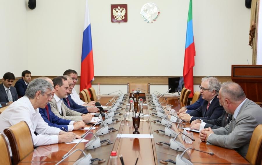 Артем Здунов встретился с бизнесменами из Чехии
