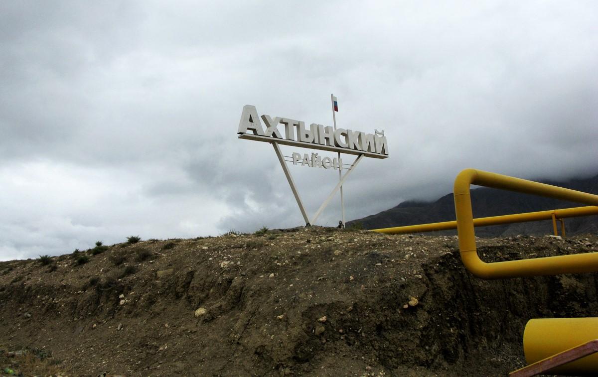 В Ахтынском районе дождь размыл дороги в селах