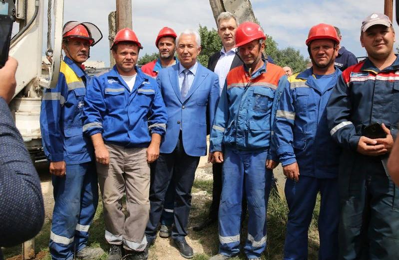 Владимир Васильев посетил село Нижнее Казанище