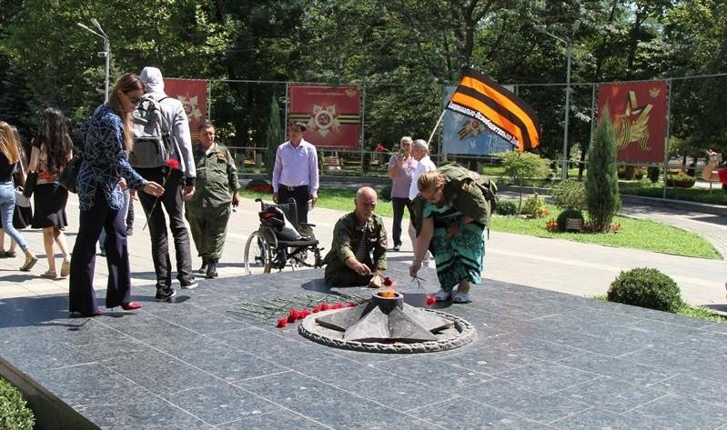 Участники Всероссийского автопробега «Победа-2018» прибыли в Махачкалу