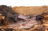 В Ногайском районе нефть разлилась на сельхозугодьях