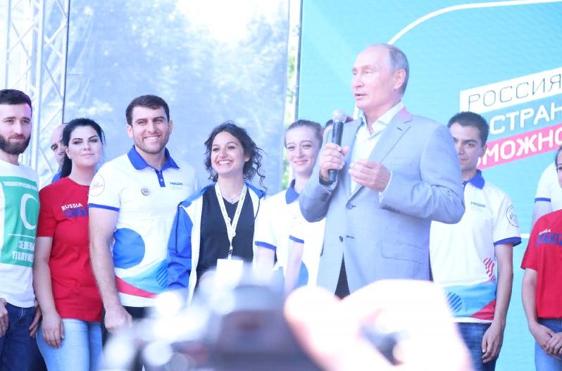 На форуме «Машук» дагестанцы рассказали Владимиру Путину о своих проектах