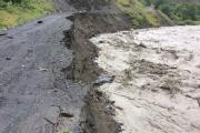 В Рутульском районе расчищены дороги, поврежденные стихией