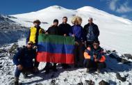 Дагестанские альпинисты покорили Восточную вершину Эльбруса