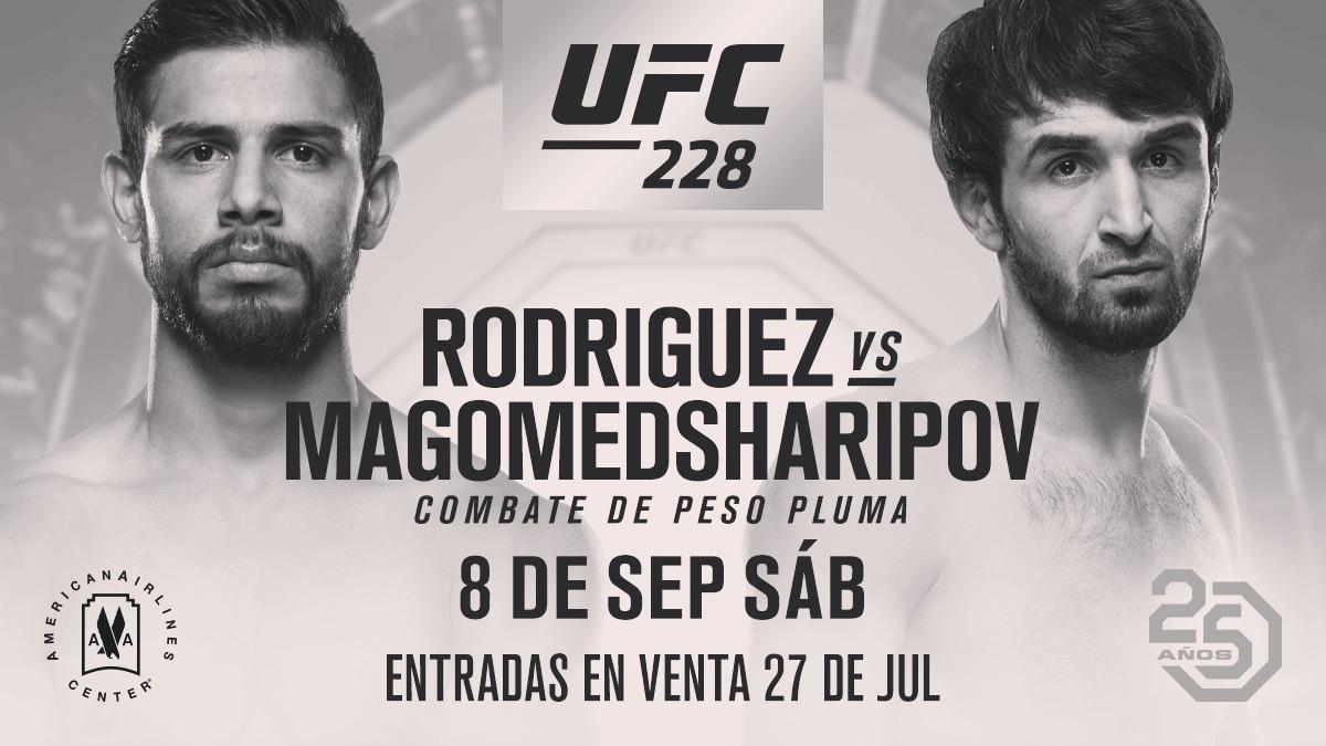 Бой Магомедшарипова с Родригесом на UFC228 под угрозой