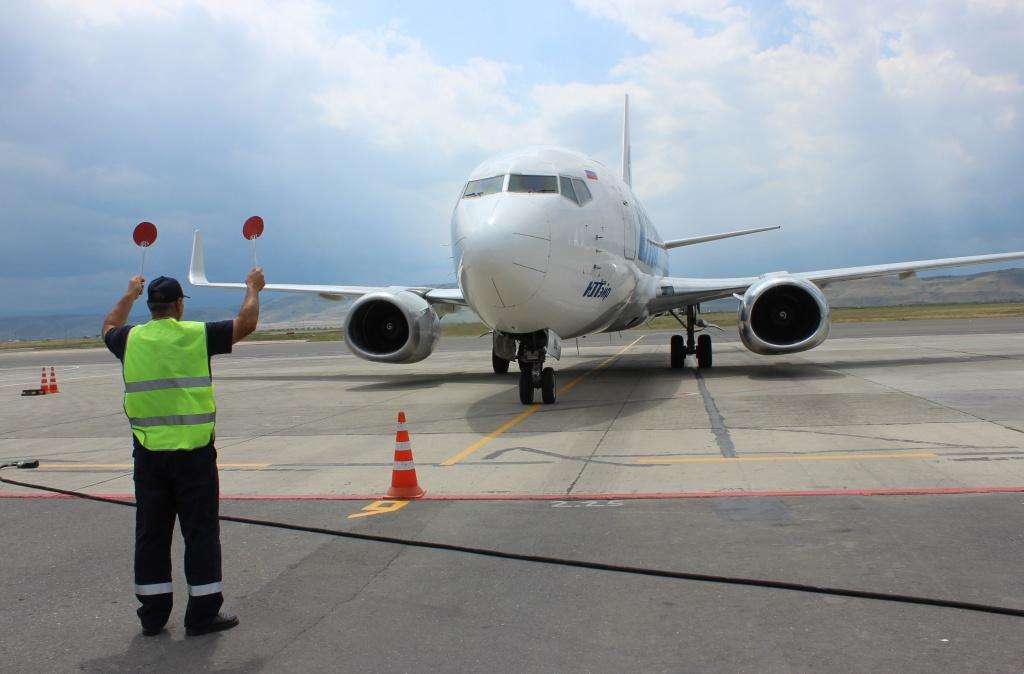За семь месяцев пассажиропоток аэропорта Махачкалы увеличился на 20 %