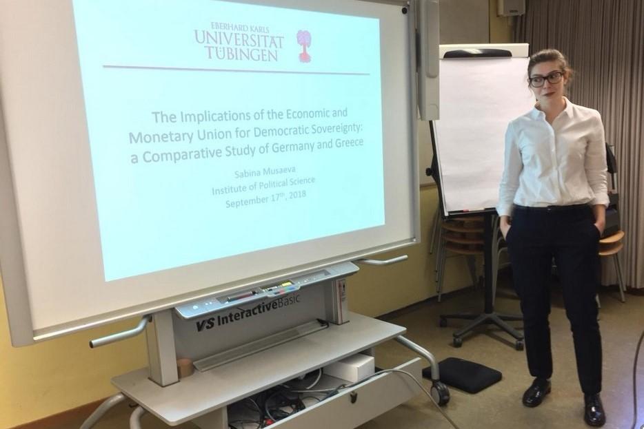 Дагестанка защитила докторскую диссертацию в немецком университете